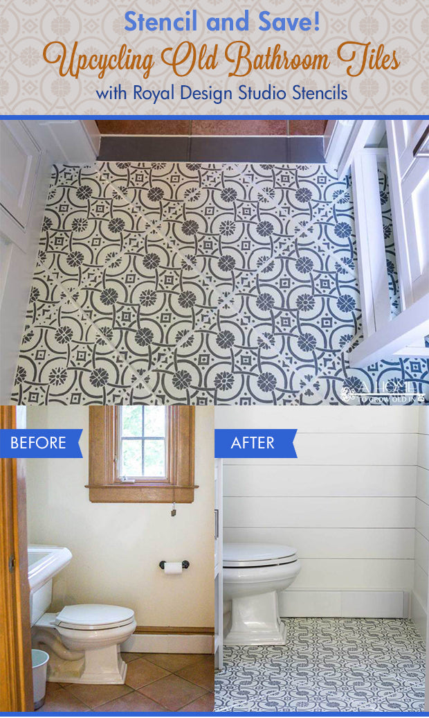 Painting Bathroom Tile Walls Diy