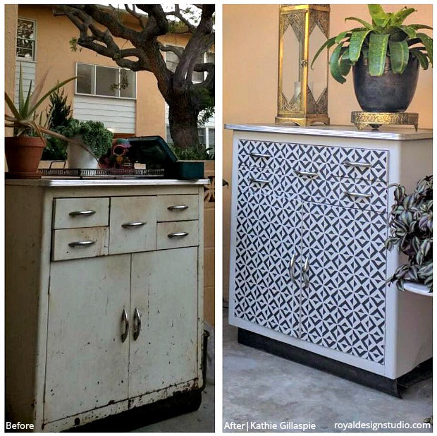 The Best Before & After Stencil Projects