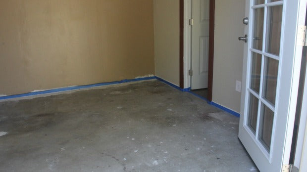 painting a cement floorHow to Stencil a Concrete Floor in 10 Easy Steps  Royal Design