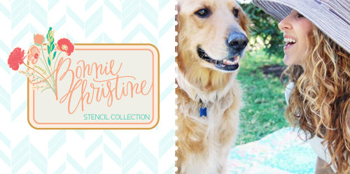 New Stencil Colllection: Bonnie Christine for Royal Design Studio Stencils