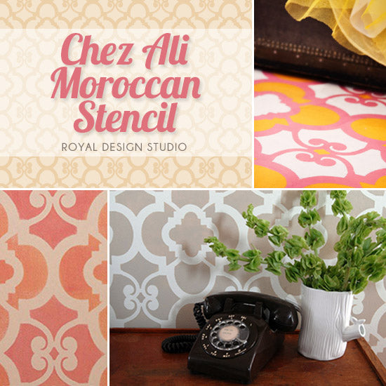 Moroccan stencil ideas for stylish home decor