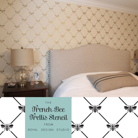 French-Inspired Stencil Ideas for Your Home | Royal Design Studio