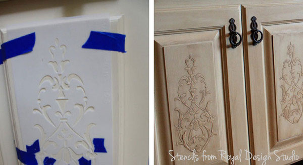 Kitchen Stenciling Ideas 2 Diy Stencil Projects To Try