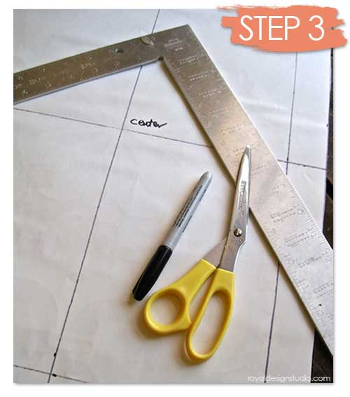 How to furniture stencil project at Royal Design Studio stencils