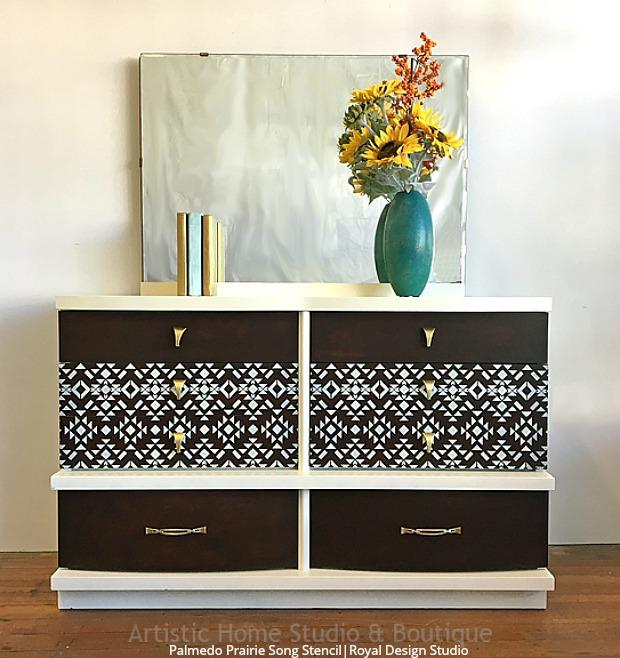 Get The Look: Tribal Modern Mid Century DIY Home Decorating Ideas   Painting  With Wall. U201c
