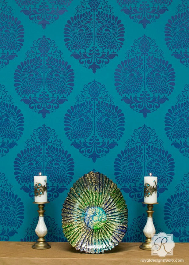 Royal Design Studio Stencils are the Perfect Interior Patterns