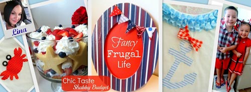 fancy frugal life stencil project