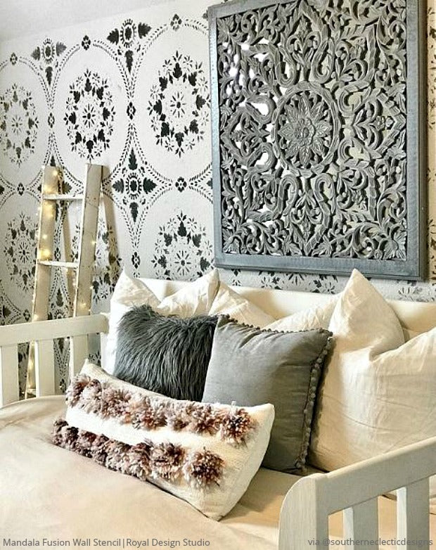 The Best Home Decor Makeovers With Insta Inspiring Stencils