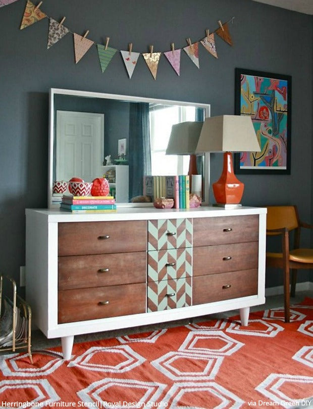 Brit+Co Loves Royal Design Studio Stencils! DIY Projects and Home Decor Ideas