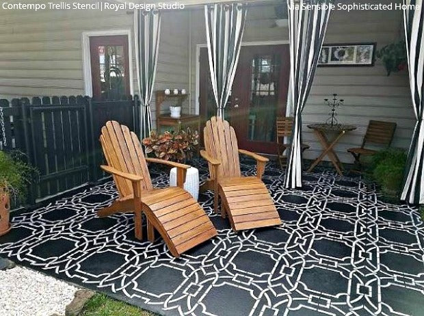Charmant Come On In! Welcome Guests With A Stenciled Porch Or Patio Floor! DIY Home