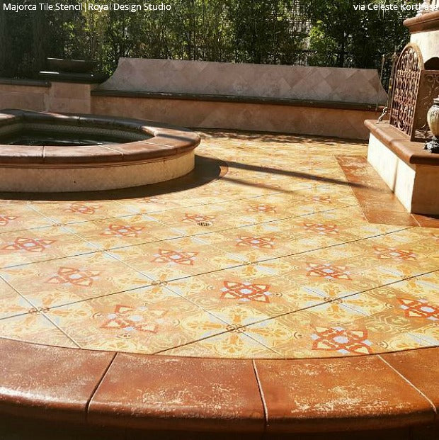 Attrayant Come On In! Welcome Guests With A Stenciled Porch Or Patio Floor! DIY Home