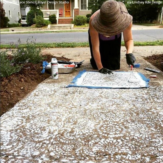 Beau Come On In! Welcome Guests With A Stenciled Porch Or Patio Floor! DIY Home
