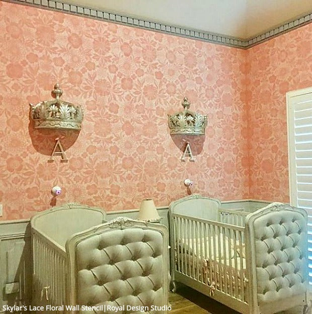 Perfect The Cutest Baby Nurseries U0026 Kids Rooms Ever! Home Decorating DIY Ideas  Using Wall Stencils