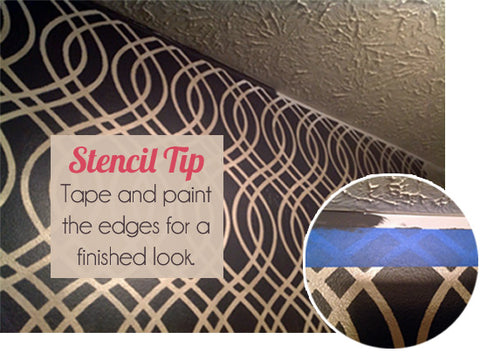 Stencil Painting Tips | Royal Design Studio