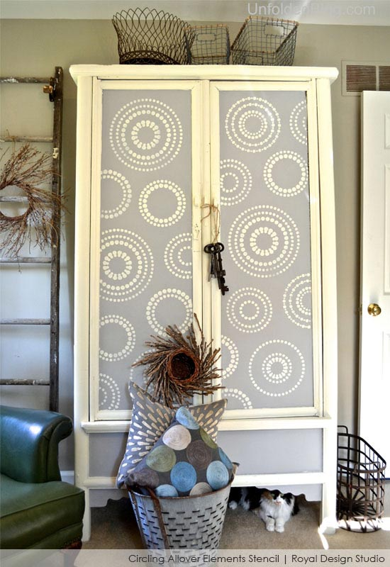 Stenciling And Chalk Paint 174 Ideas For Furniture