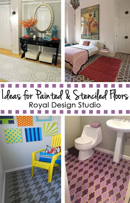 Ideas for Stenciled and Painted Floors