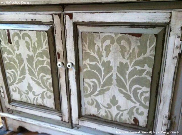 Cabinet Door Craft Ideas