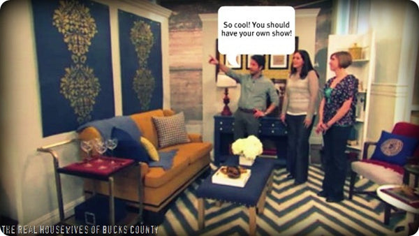 Stencils on the Nate Berkus Show!