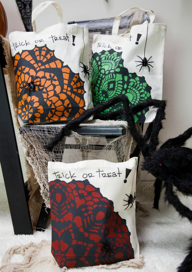 Halloween Party Décor & Stencil Tutorials from Royal Design Studio