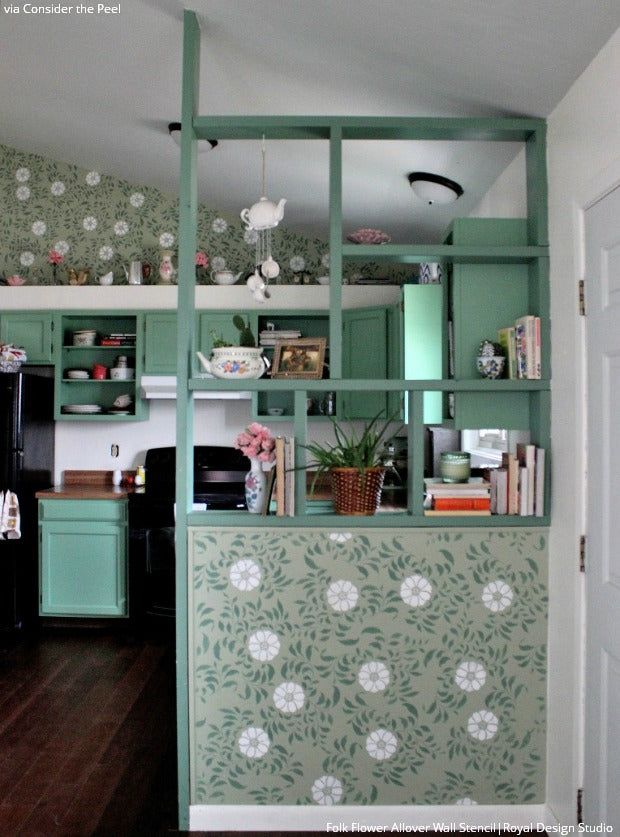 Total Home Transformation: 3 Freshly Stenciled Rooms You Need to See!