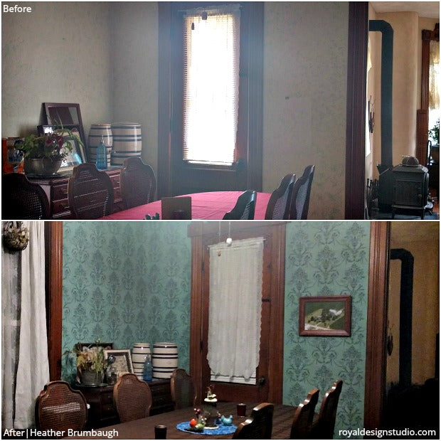 Before U0026 After Stenciled Decor You Wonu0027t Believe Are DIY! 30 Painting  Projects. U201c