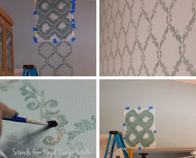 Wall Stencils for Old World feel