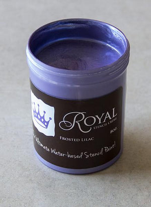 Frosted Lilac Stencil Creme