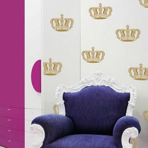 Queen Crown Wall Art & Furniture Stencil