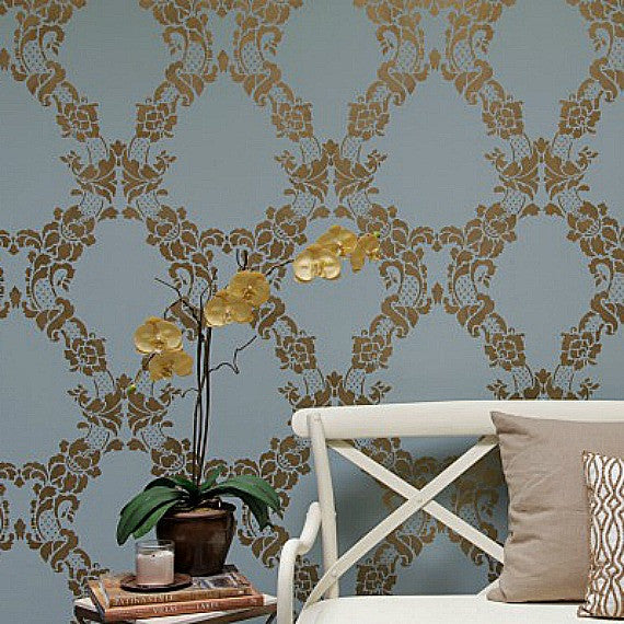 Hour Feature Wall Stencil Kit