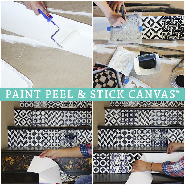 Moroccan Stairs Stencil Kit