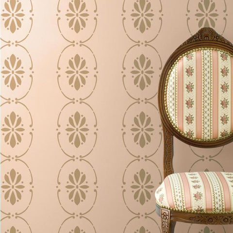 Border Stencils | Wall Stencil Borders | Border Furniture Stencils ...