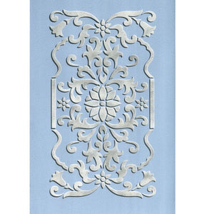 Panel Stencils for Cabinets, Doors, and Wall Decor - Royal Design Studio