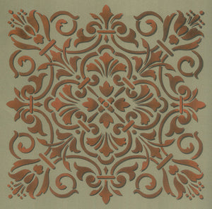 Italian, Spanish, and Classic European Tile Wall Stencils - Royal Design Studio