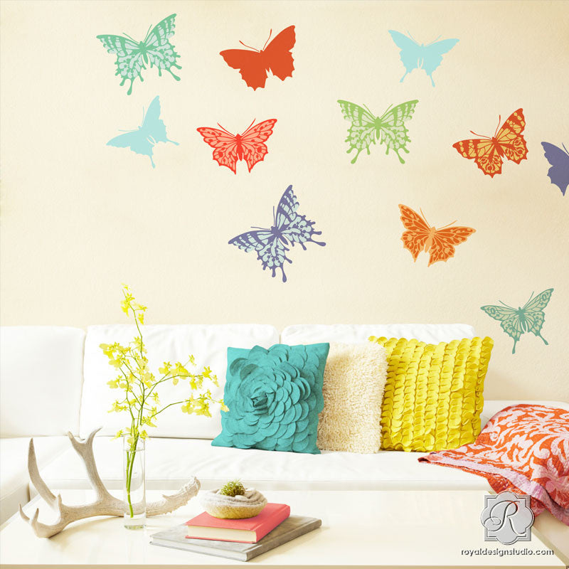 Papillon Butterfly Stencil Set