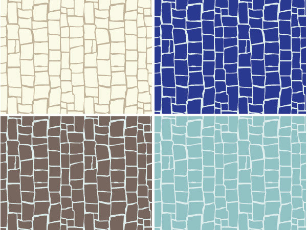 DIY Mosaic Tile Wall Stencils for Painting - Royal Design Studio