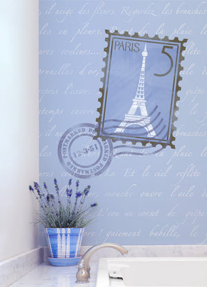 French Quotes Lettering Stencils - Royal Design Studio