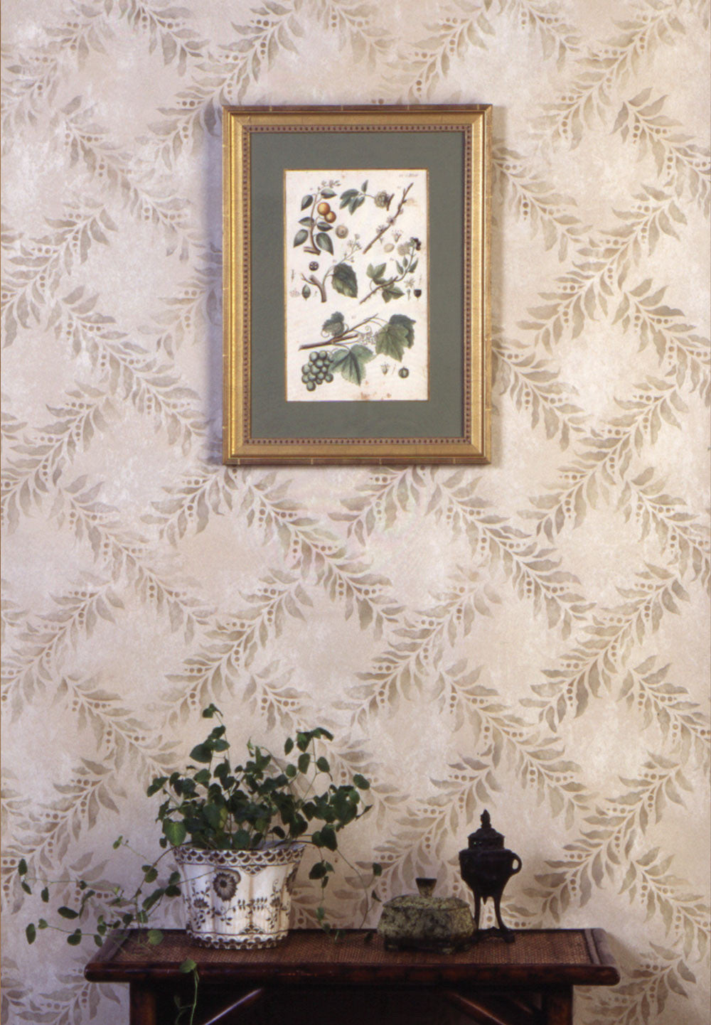 Stencils crossed garland wall stencil royal design studio stencils crossed garland stencil patterns geometric leaves vines stencils royal design studio amipublicfo Image collections