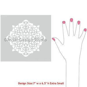 Asma Ornament Stencil - Royal Design Studio
