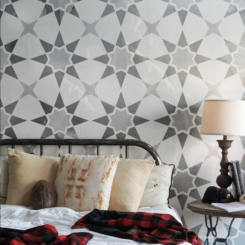 NEW! Supernova Tile Stencil
