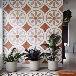 NEW! Dazey Tile Stencil