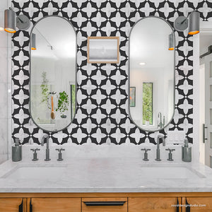 NEW! Finley Tile Stencil
