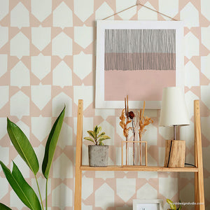 NEW! Emblematic Wall Stencil