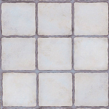 Ceramic Tiles Trompe L'oeil Wall Stencil for Realistic Tile Wall Art and Painted Floors