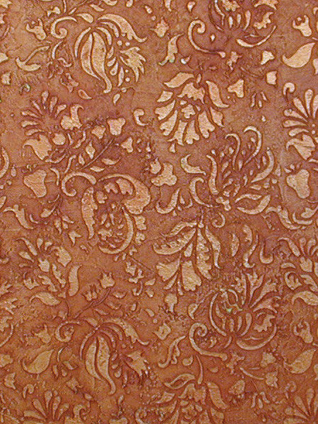 Allover Brocade Flowers Wall Stencils for Stenciled Bedroom and Living Room Accent Walls with Flower Patterns - Royal Design Studio