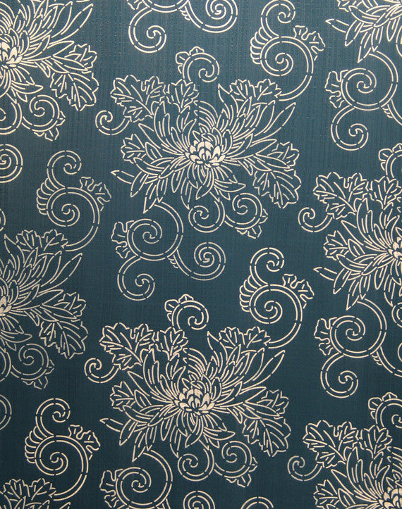 Painting Flower Designs on Walls with Asian Decor Stencils - Royal Design Studio