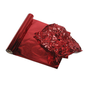 Candy Apple Red Metallic Color Foil