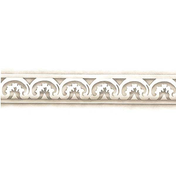 Carved Acanthus Molding Border Furniture Stencils