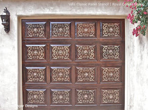 Villa Classic Panel Stencil By Royal Design Studio