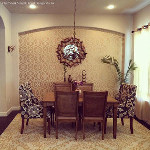 Trendy Designer Stencils & Moroccan Stencils for Home Decorating - Royal Design Studio