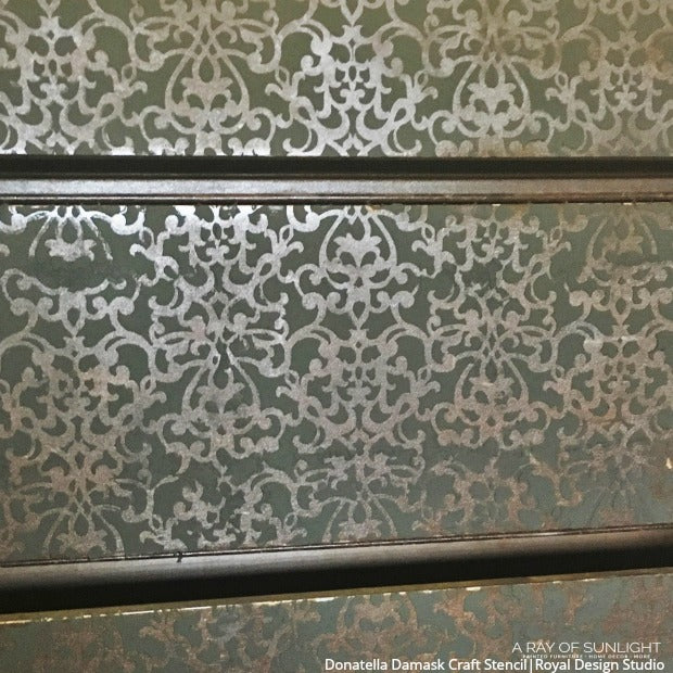 Donatella Damask Craft Stencil